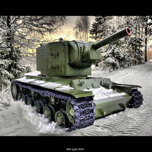 Heavy Soviet Tank KV-2.  1941. Советский тяжелый танк КВ-2. 1941 год. by Peer.Gynt.