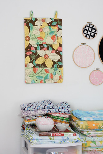 Wall Organizer Tutorial - In Color Order