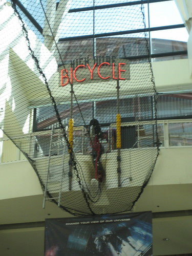 High wire bicycle