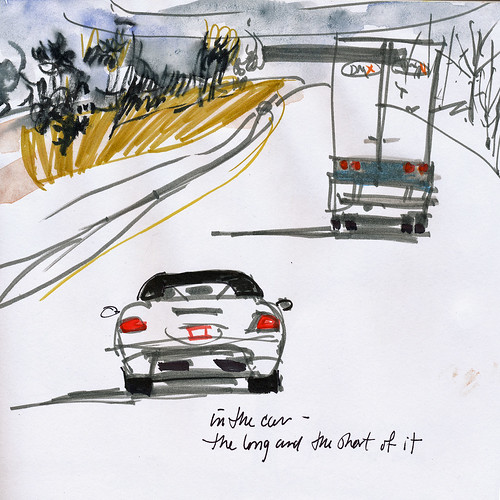 In the car: long and short