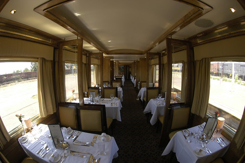 Blue Train (South Africa) - Restaurant