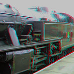 Steam Locomotive on the Bluebell Railway in 3D thumbnail