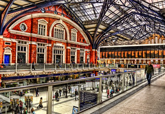 HDR London Liverpool Street Station