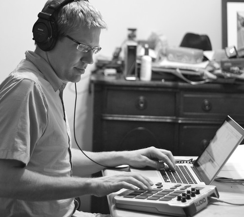 14/52: Bill Van Loo working on sound design in Ableton Live
