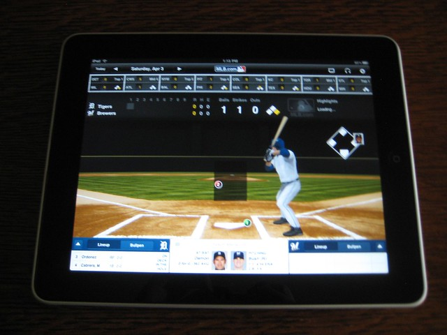 mlb on ipad