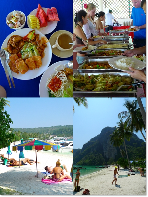 Buffet Lunch @ Phi Phi Don