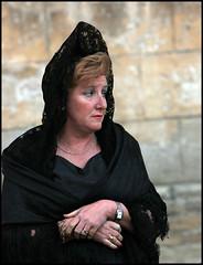 IMG_2156-a Mantilla (Dan Uneken_) Tags: santa woman black dan lady easter spain traditional paso procession tradition andalusia semana jerez mantilla  peineta danuneken uneken