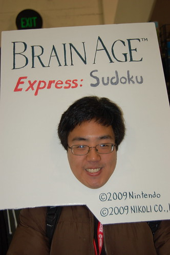 Wonder Con 2010: Brain Age Express: Sudoku