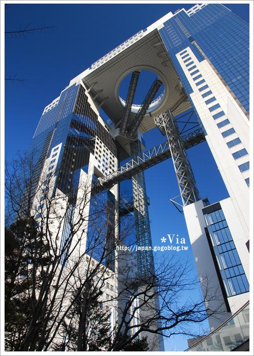 【大阪自由行】跟著via遊大阪~大阪梅田空中庭園展望台7