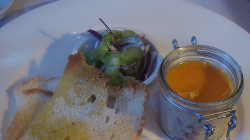 Potted shrimp and smoked mackerel