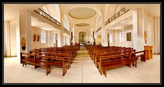 Chapelle couvent St-Marc -OSENBACH- (Mathieu Muller) Tags: monument pano perspective glise chapelle intrieur panoramique stmarc symtrie gueberschwihr osenbach flickrchallengegroup flickrchallengewinner mathieumuller