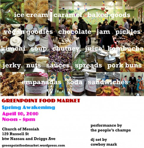 April Greenpoint Food Market