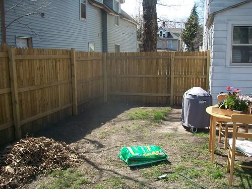Yard before Flower Garden