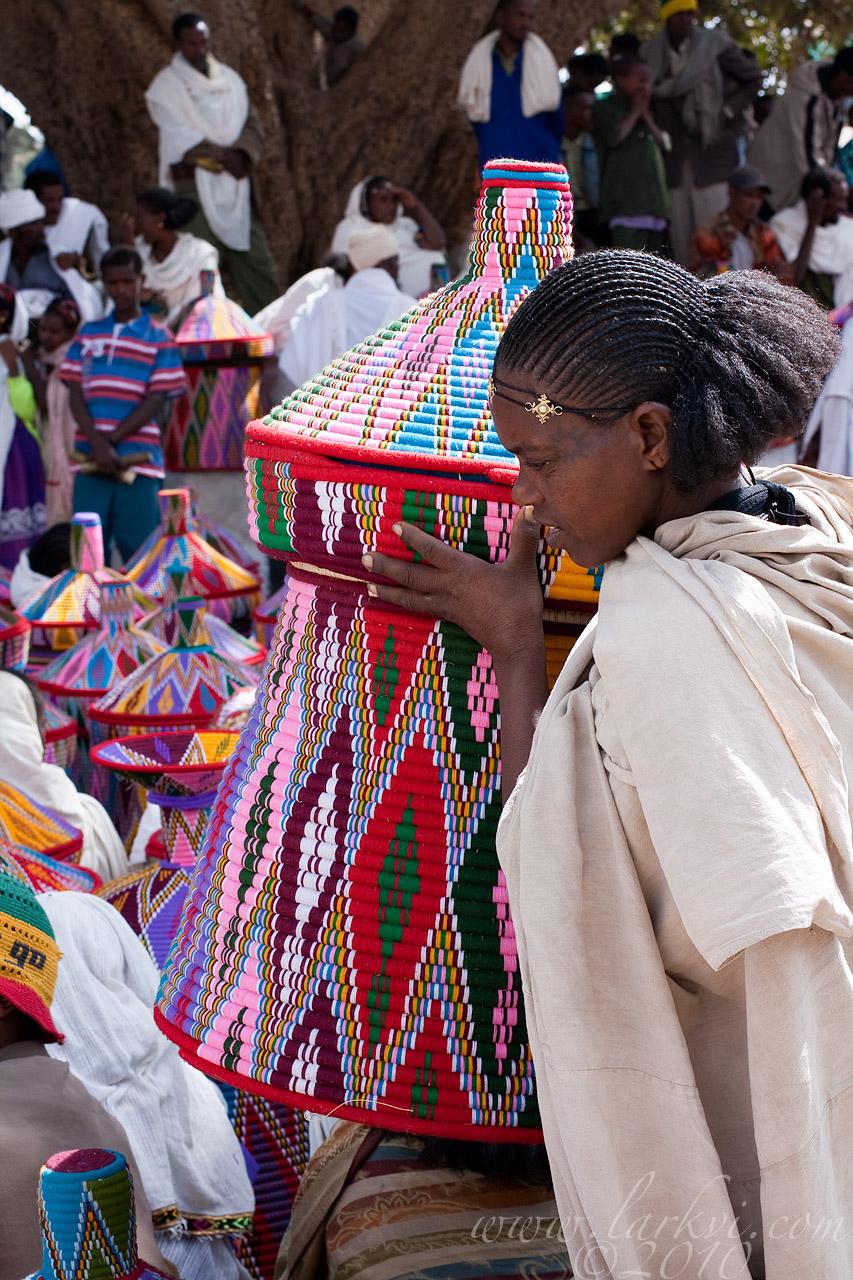 Basket Market, Axum, Tigray, Ethiopia, November 2009
