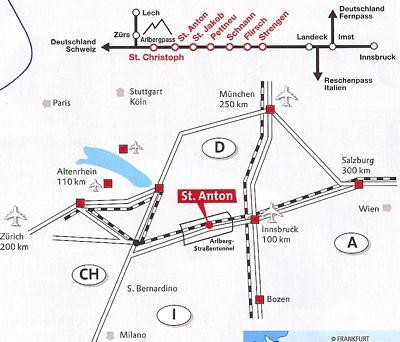 Mapa de transportes