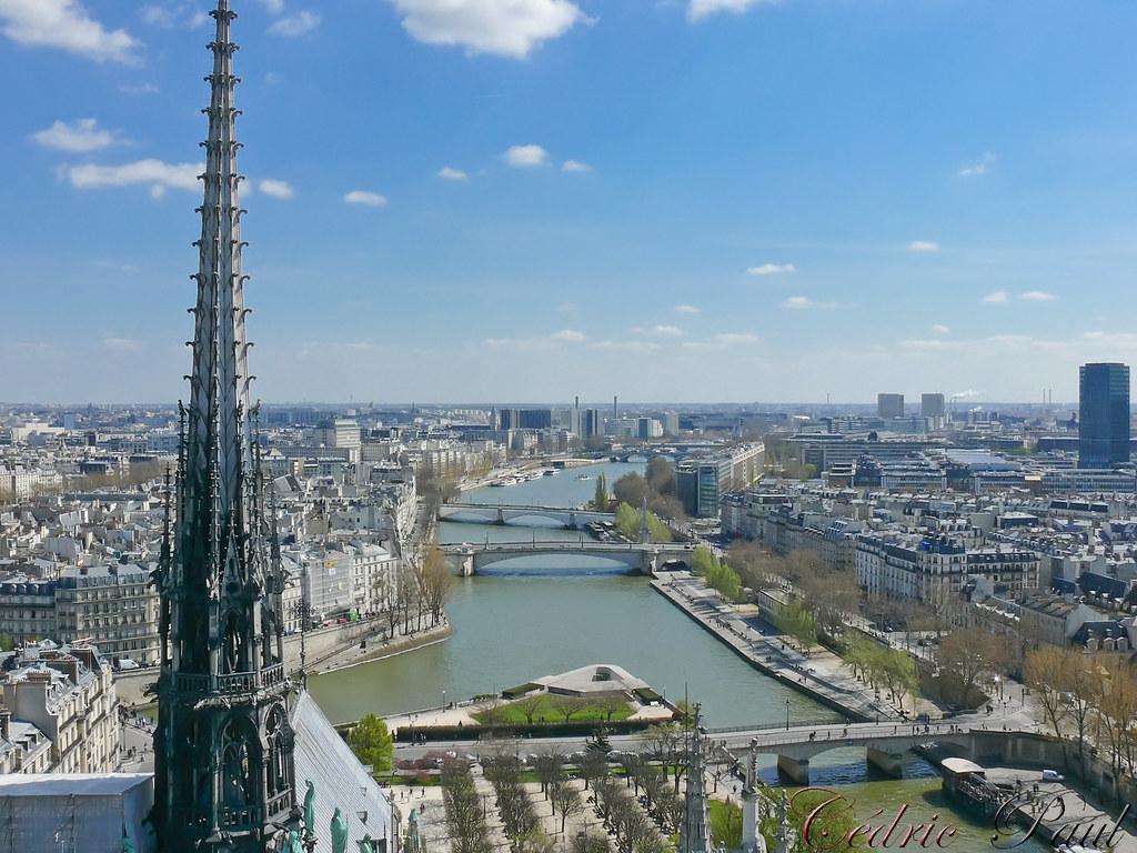 Paris depuis Notre-Dame