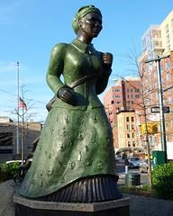 Harriet Tubman Sculpture, Harlem, New York City (jag9889) Tags: city nyc sculpture ny newyork art public work square harlem 20 2010 tubman undergroundrailroad banknote 20bill harriettubman twentydollarbill y2010 jag9889
