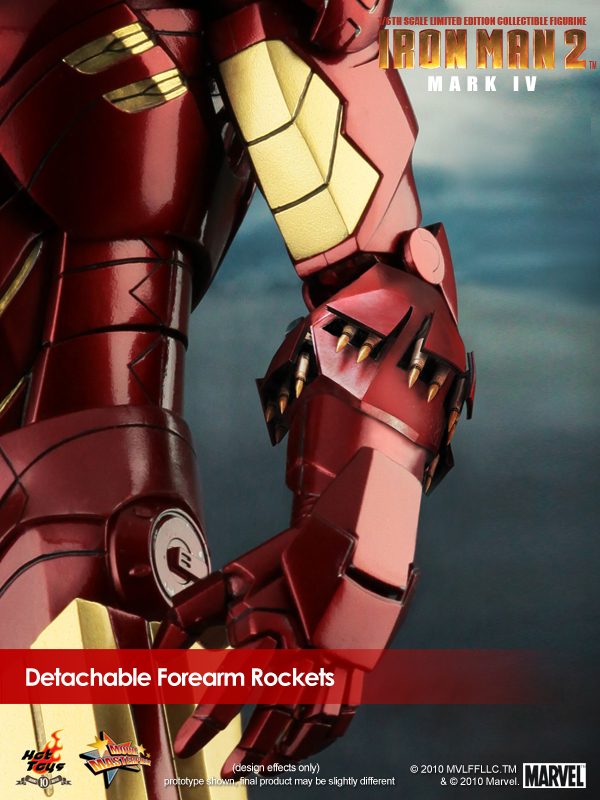 Iron Man 2 Mark IV rockets