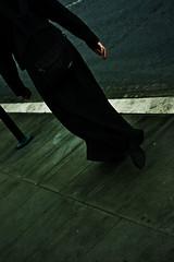 Prevt!! (HasEightLivesLeft) Tags: rome roma walking back foto mano zaino footpath piede dietro marciapiede camminare prete tonaca canoneos450d dadietro prevt