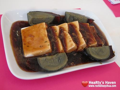 tofu century egg tsim sha tsui