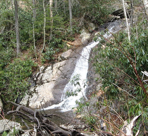 Waterfall on Cabin Creek Trail