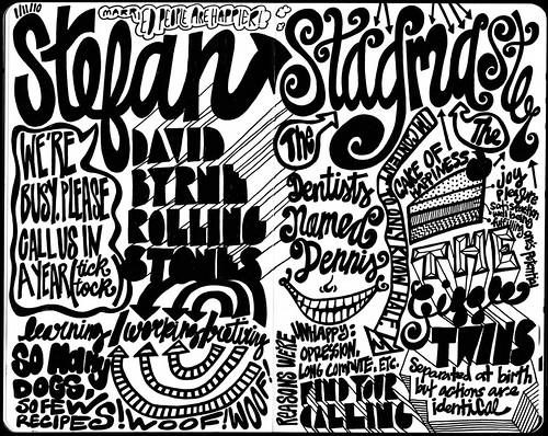 Stefan Sagmeister, Sketch 1