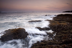 when I miss Home (Helminadia Ranford(Traveling)) Tags: sunset bali motion beach indonesia wave seseh