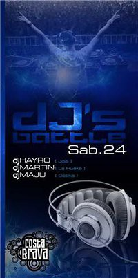 Dj's Battle - Costa Brava Barranco