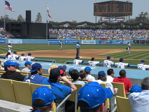 Dodger Game vs SF Giants, April 18, 2010