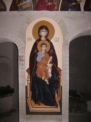 Presveta Bogorodica Seljanska (archaicart) Tags: wood art painting photo child drawing serbia jew