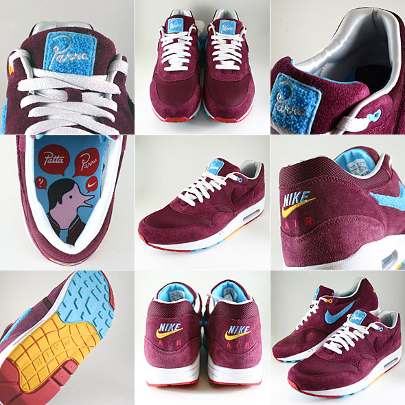 96e46340e0c8 Parra x Patta x Nike Air Max 1. Hottest shoe of the year  Yeah