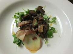 Pancetta & Mushrooms Salad