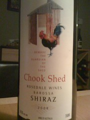 2008 Chook Shed Shiraz