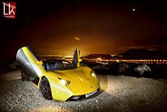 U.F.O (Paganikon) Tags: sunset car skyline night nikon flash automotive f1 monaco d200 supercar b1 1224 sb900 marussia