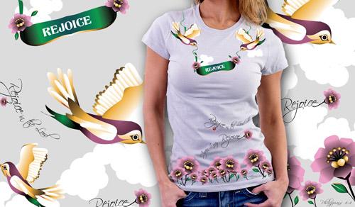 Rejoice : T-shirt Design