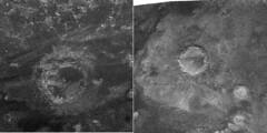 Cráteres en Titán
