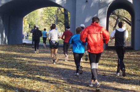 Pražské parky s novým značením běžeckých tras