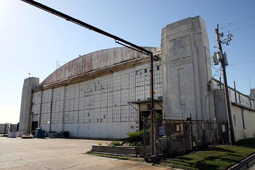 houston municipal airport hangar