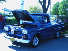1958 Chevrolet Apache Fleetside Pickup 'M 61 345' 1 (Jack Snell - Thanks for over 26 Million Views) Tags: ca old wallpaper classic chevrolet wall vintage paper jack apache antique vacaville diner pickup historic m 1958 oldtimer veteran mels 61 snell fleetside 345 cruiseins jacksnell