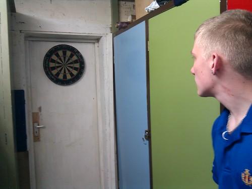 Photo of Craig Crewe playing Darts