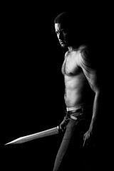 . (sengsta) Tags: matt studio fight tattoos sword warrior combat weapons longsword gladius goyder uponhighstudio