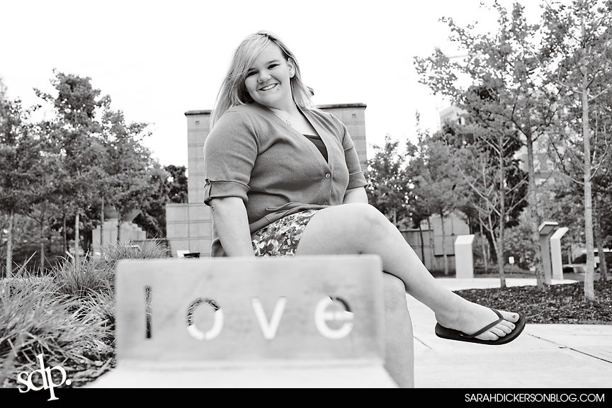 Kansas City Plaza senior photography