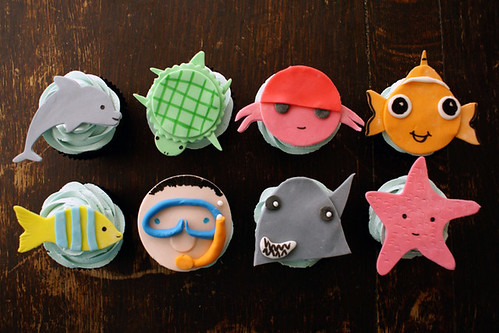 Underwater Cupcake Collection!