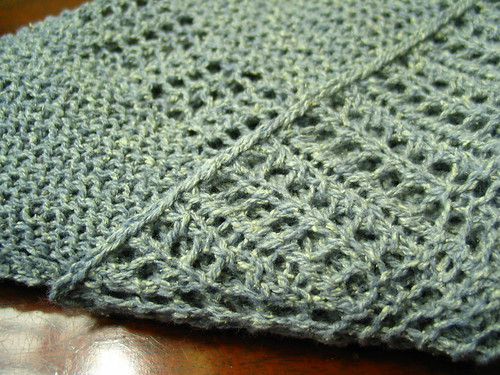Old Man of Storr shawlette