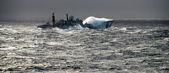 HMS YORK in heavy South Atlantic seas (Ugborough Exile) Tags: nikon ships royalnavy southatlantic d80