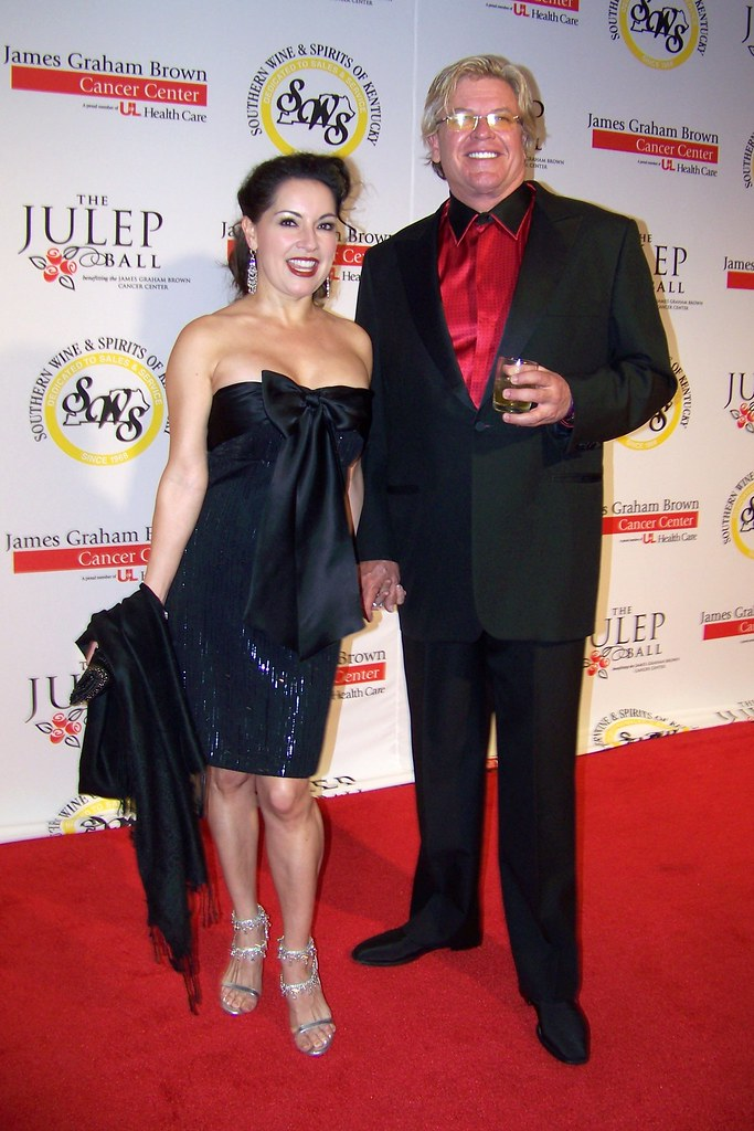 Ron White and his wife at the 2010 Julep Ball