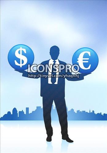 money symbol icon. holding money symbol icon