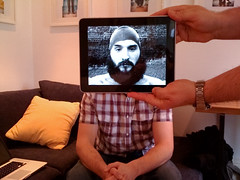 lomokev iPad portrait (lomokev) Tags: apple beard photo mac flat openhouse geeky lomokev kevinmeredith iphone ipad macbook macbookpro flickr:user=lomokev flickr:nsid=40962351n00
