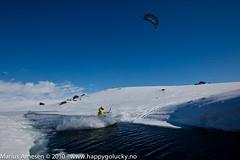 Rider: Terje Hallsteinsgrd, Hardangervidda, Norway (Marius Arnesen) Tags: kite fone hardangervidda haugastl snowkite bjrnkaupang