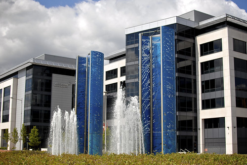 The Fountains Outside British Gas